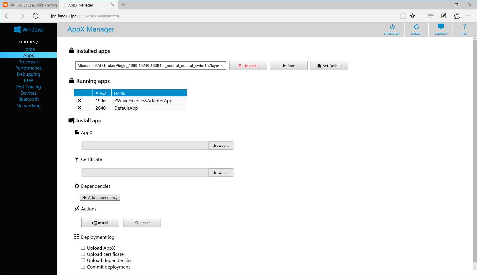 Windows 10 IoT — Device Provisioning + App Deployment · jpda dev